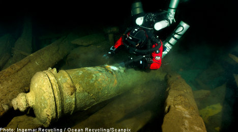 'New Vasa' shipwreck found on Baltic seabed