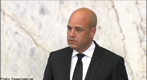 Reinfeldt to visit scout camp