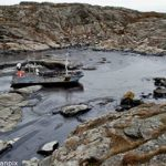 Oil spill clean-up continues in Sweden