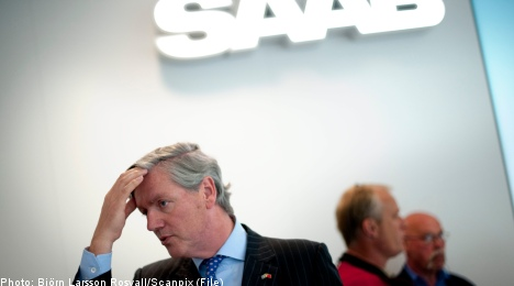 Saab to appeal creditor protection rejection