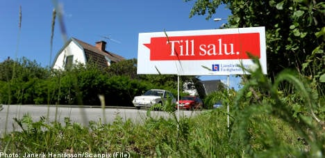 Swedish housing prices head south