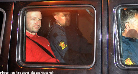 Two men charged for Breivik 'tribute' attack