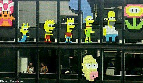 Post-it wars spread to Swedish offices