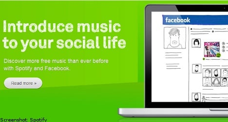 Spotify defends demand for Facebook tie in
