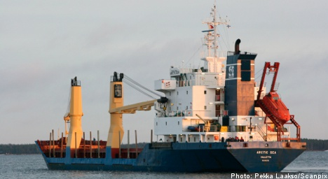 Hijacked ship carried Russian chemical weapons: report
