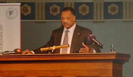 Jesse Jackson: Swedes are better than this