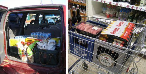 From Sweden to Germany in search of cheap booze