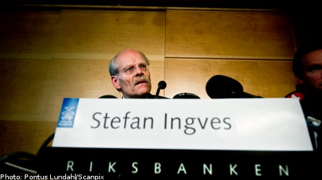 Riksbank leaves base rate unchanged