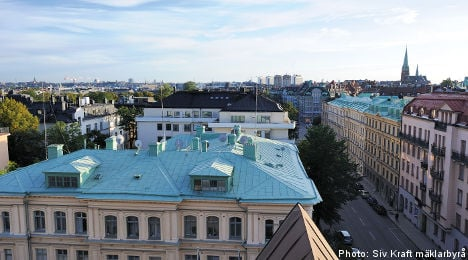 58 million for Sweden's most expensive flat