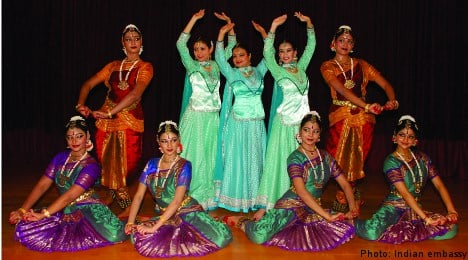 Indian dance troupe in rare Sweden show