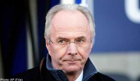 'Svennis' sacked by Leicester City