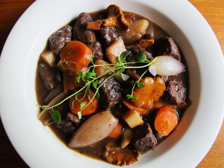 Moose stew<br>Gryta, or stew, isn't exclusive to Sweden, but it's popular winter fare. What makes it regionally special is the kind of meat and ingredients used. Elk, reindeer, and wild boar are commonly available in Swedish supermarkets and all make excellent stews.Photo: Maia Brindley Nilsson
