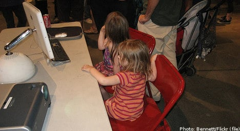 Swedish toddlers surf the internet in droves: report