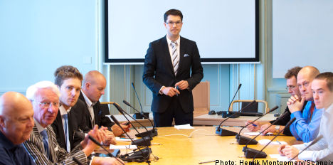 Sweden Democrats in nationalism ideology row