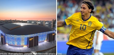 Sweden to play England to open Swedbank Arena