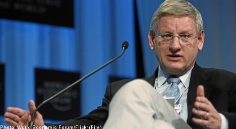Bildt: budget rules 'must be obeyed'
