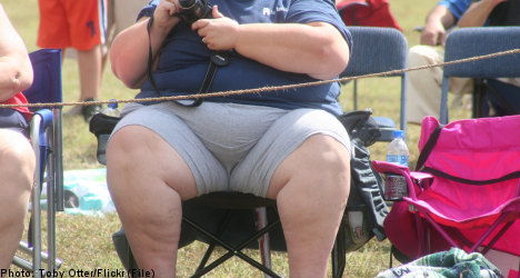 Number of fat Swedes expanding: study