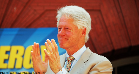 Clinton cancels Malmö visit after family death