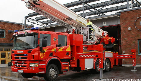 Swedish firefighter wins affirmative action suit