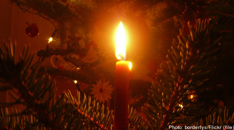 Home fires increase during Swedish winter
