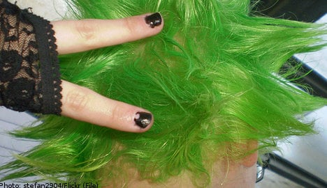 'New homes' turn Swedes' hair green