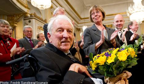 Poetry and performance infuse Tranströmer's Nobel lecture