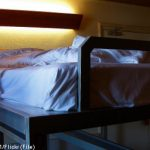 Failed prank leaves hotel worker trapped in bed