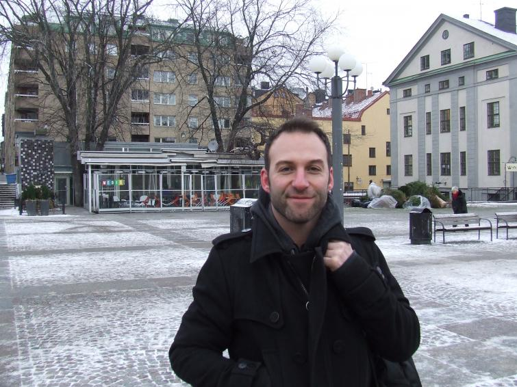 """Andreus Hoglund, 39, Stockholm<br>""""Yes, it was the right choice. He has a problem in communicating with seriousness. He has the humour, but when things get tough, he just doesn't take it seriously. He never showed any regret and evoked no sympathy."""" Photo: Photo: Oliver Gee"""