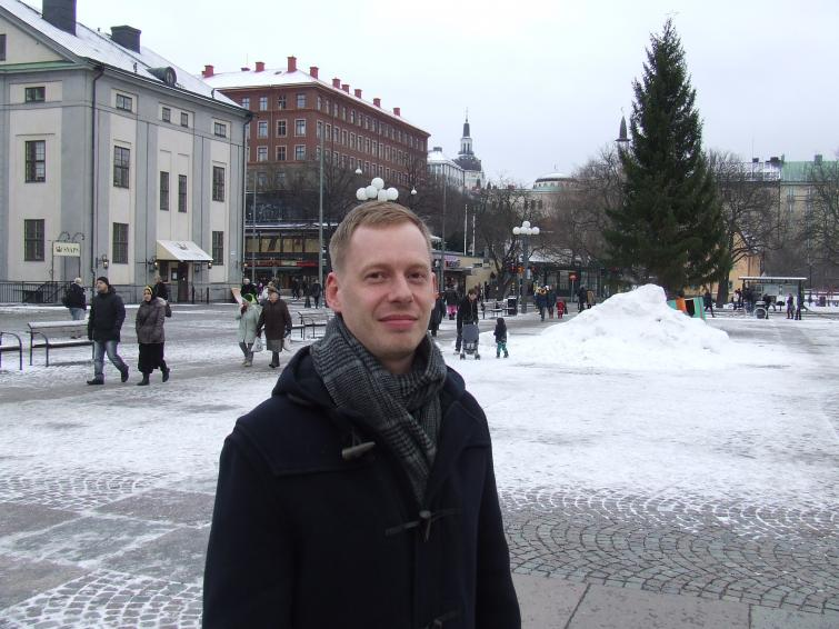 """Peder Clevberger, 39, Stockholm <br>""""He was obviously really incompetent. He made a mess from the start, he should have resigned earlier. But I don't think it's the media's fault, they were just doing their job."""" Photo: Photo: Oliver Gee"""