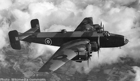 Divers find WWII bomber off Swedish coast