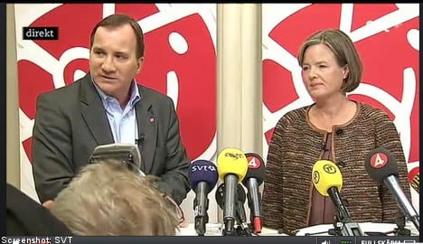 Löfven 'proud and happy' to take party's top job