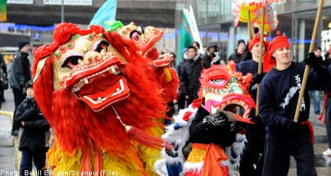 Celebrate the 'Year of the Dragon' in Stockholm