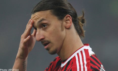 Zlatan brushes off Inter fans' racist taunt