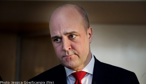 Swedes should work until they're 75: Reinfeldt