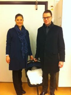 New Princess of Sweden<br>The first snap of the newest addition to the Swedish Royal Family was uploaded onto the Swedish Royal Court's Facebook page.Photo: Photo: Swedish Royal Court