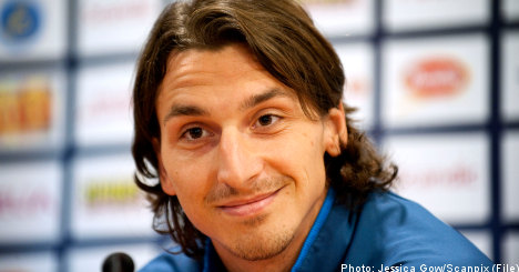 Zlatan launches 'first ever' iPad autobiography