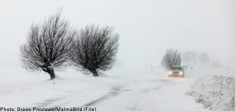 Snow and severe cold forecast for Sweden
