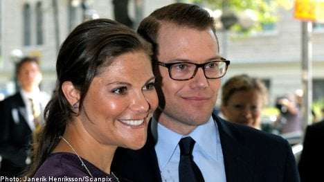 Victoria and Daniel thank well-wishers