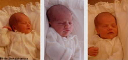 Baby Estelle<br>The previously released pics of Sweden's newest princess.Photo: Photo: Kungahuset.se