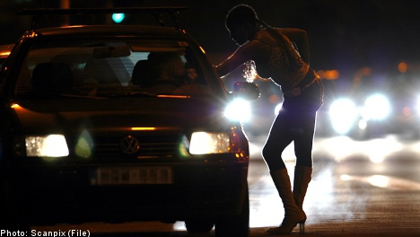 'I wasn't allowed to cry on the street': prostitute