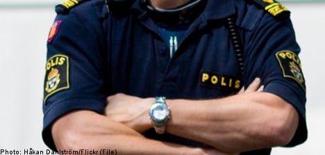 Swedish cop sacked and fined for flashing staff