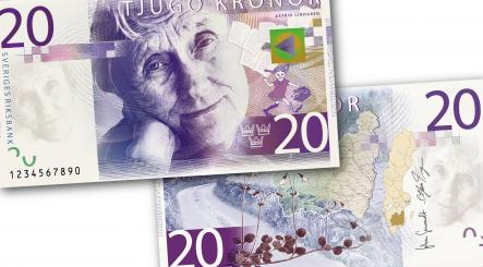 IN PICTURES: Sweden's new bank notes