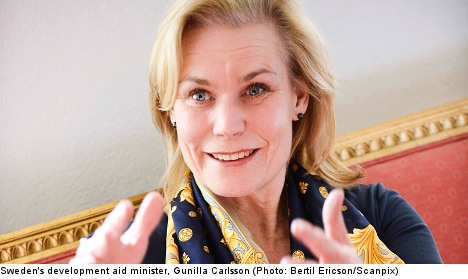 Sweden world's most generous donor: OECD
