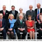 Random woman attends Swedish ministerial meal