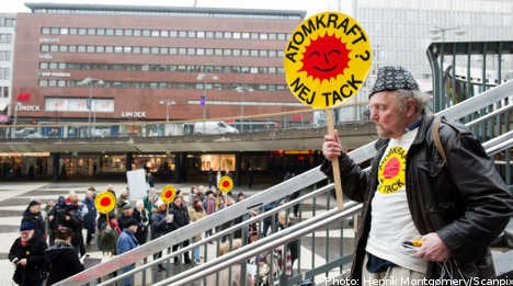 Swedish opposition to nuclear energy on the up
