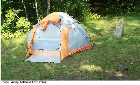 Homeless Swede wins tent subsidy battle