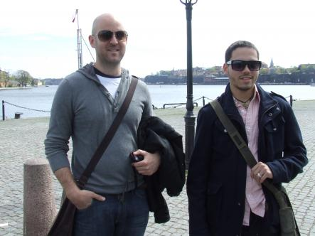 Geoff, 32, and Paul, 23 - Australia and the US<br>Sweden is so expensive - could you even buy one meatball? If so, one Ikea meatball with cheese, please. Or a boat ride.