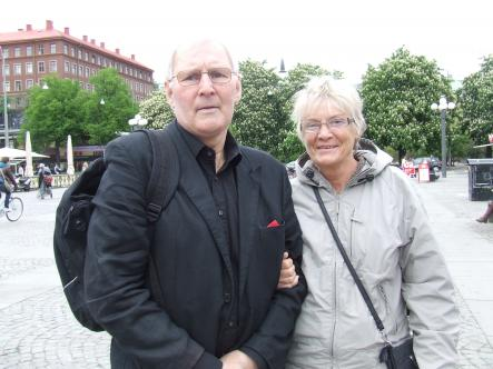 Jan-Christer, 71 and Inna-Karin, 65<br>Loreen is a pure, loving and charismatic individual. She is as good a performer as Abba.