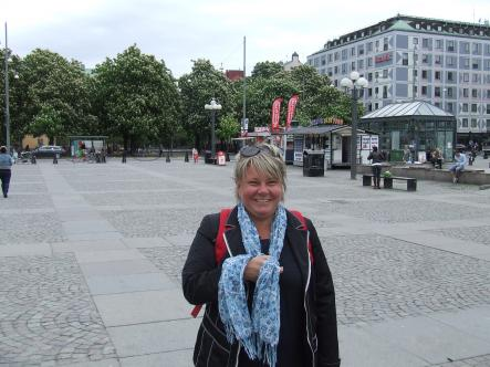 Sirpa, 50<br>Loreen has a wonderful voice, and with her natural look she represents Sweden in a really good way.