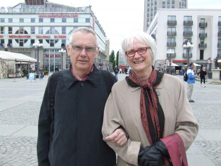 Martin, 75 and Birgitta, 70<br>Her performance was mystical and extraordinary! She looks more like an artist than a singer.
